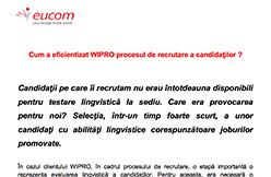 testimonial wipro client eucom